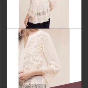 Anthropologie Harlyn Jaclyn blouse